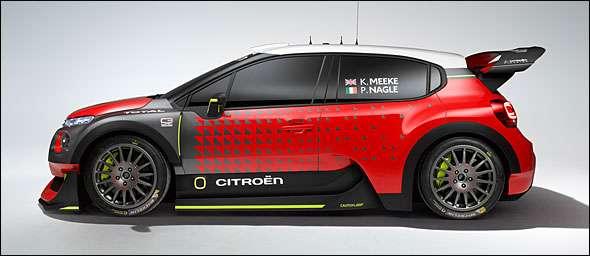Citroen C3 WRC 2016