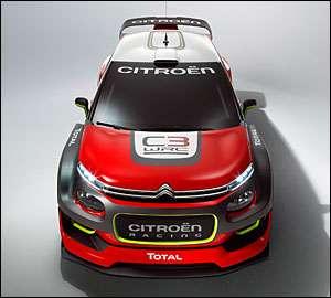 Citroen desvenda C3 WRC para 2016