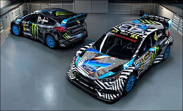 Hoonigan Racing Ford Focus RS RX