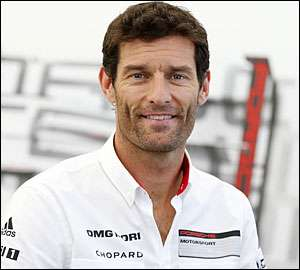 Mark Webber abandona no final da temporada