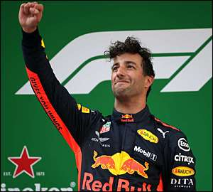 Daniel Ricciardo surpreende no GP da China
