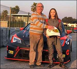 Gabriela Correia com SEAT Leon TCR