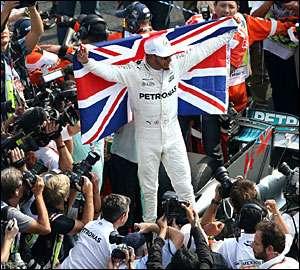Hamilton conquista tetra no GP do México