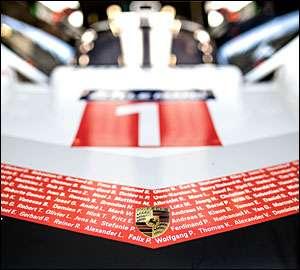 Porsche 919 Hybrid Evo supera F1 em Spa