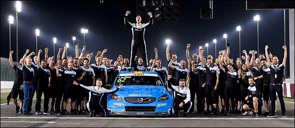 Volvo Polestar Cyan Racing