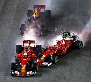 Lewis Hamilton vence no desastre da Ferrari!