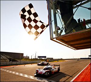 Porsche conquista dobradinha em Austin