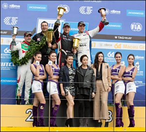 Huff e Bennani repartem vitórias em Macau