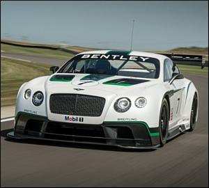 Mex Machado com Bentley GT3 no CPR