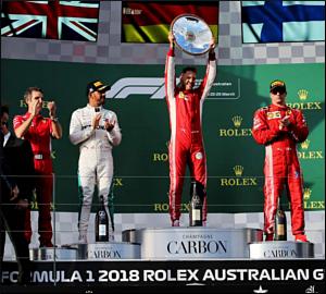 Ferrari arranca nova temporada com triunfo!