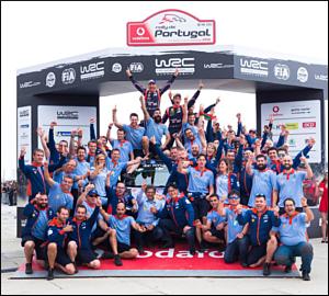Árduo triunfo para Thierry Neuville em Portugal