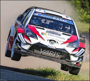 Ott Tanak domina em solo alemão