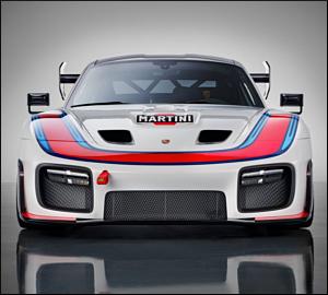 Porsche desvenda edição exclusiva do 935