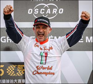 Tarquini leva a melhor nas ruas de Macau
