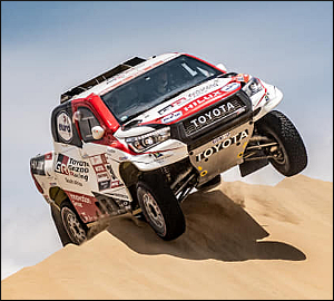 Al-Attiyah leva Toyota ao triunfo no Dakar