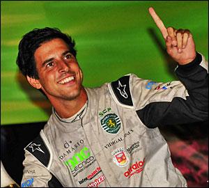 Rafael Cardeira com Clio R3T no CPR