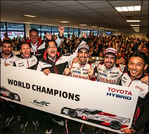Toyota conquista título em Spa-Francorchamps