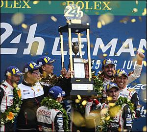 Toyota com dobradinha histórica em Le Mans