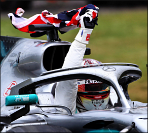 """Um """"imperial """"Lewis Hamilton em Silverstone!"""
