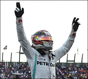 """Lewis Hamilton a um passo do """"Hexa"""""""