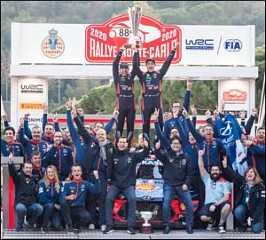 Hyundai conquista vitória em Monte Carlo