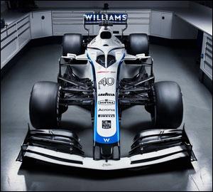 Williams apresenta nova decoração