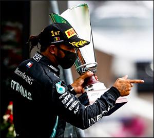 Lewis Hamilton domina em Spa-Francorchamps