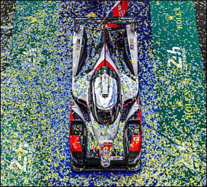 Toyota TS050 conquista 3º triunfo em Le Mans