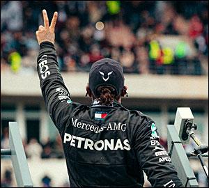 Lewis Hamilton faz história em Portugal!