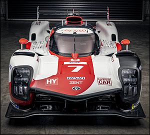 Toyota Gazoo Racing revela cores para 2021