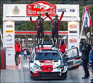 Ogier alcança recorde no Rallye Monte-Carlo