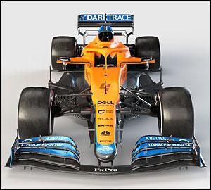 McLaren apresenta MCL35M