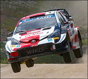 Elfyn Evans vence Vodafone Rally de Portugal!
