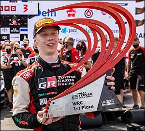 Kalle Rovanperä estreia-se nos triunfos no WRC!