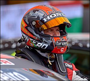Tiago Monteiro nos pontos na Hungria